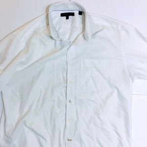 Tommy Hilfiger Mens Long sleeve dress shirt White